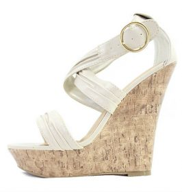 Paprika Garzon-S Open toe Platform Wedge -0