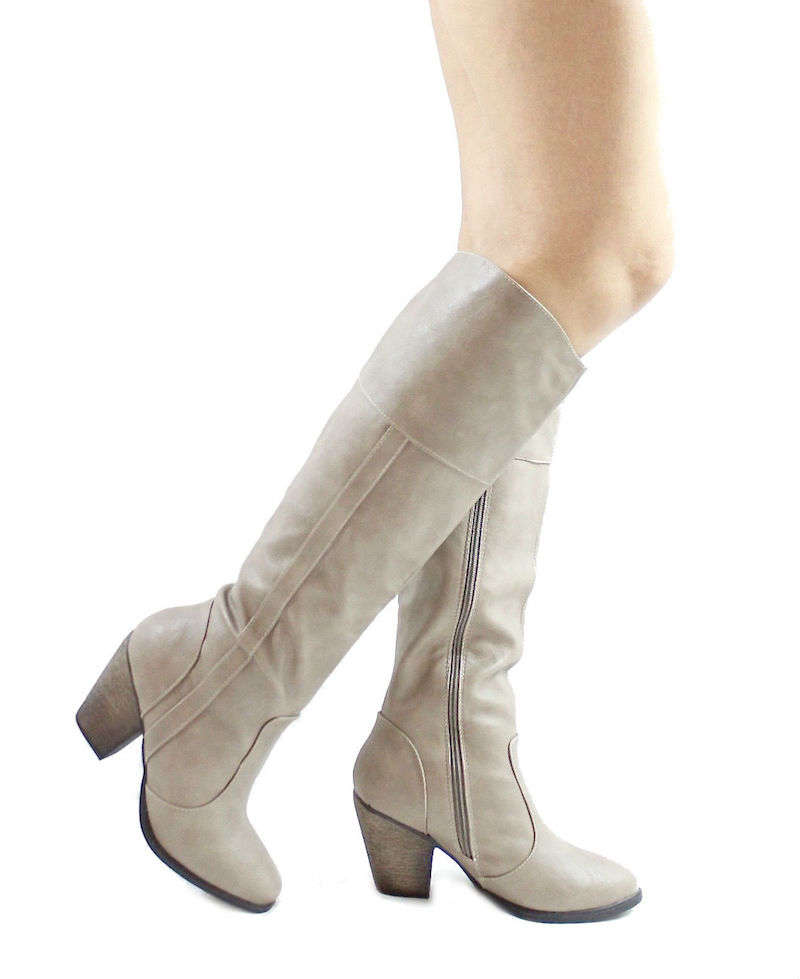 Dollhouse Attention Stone Cowgirls Western boots-0