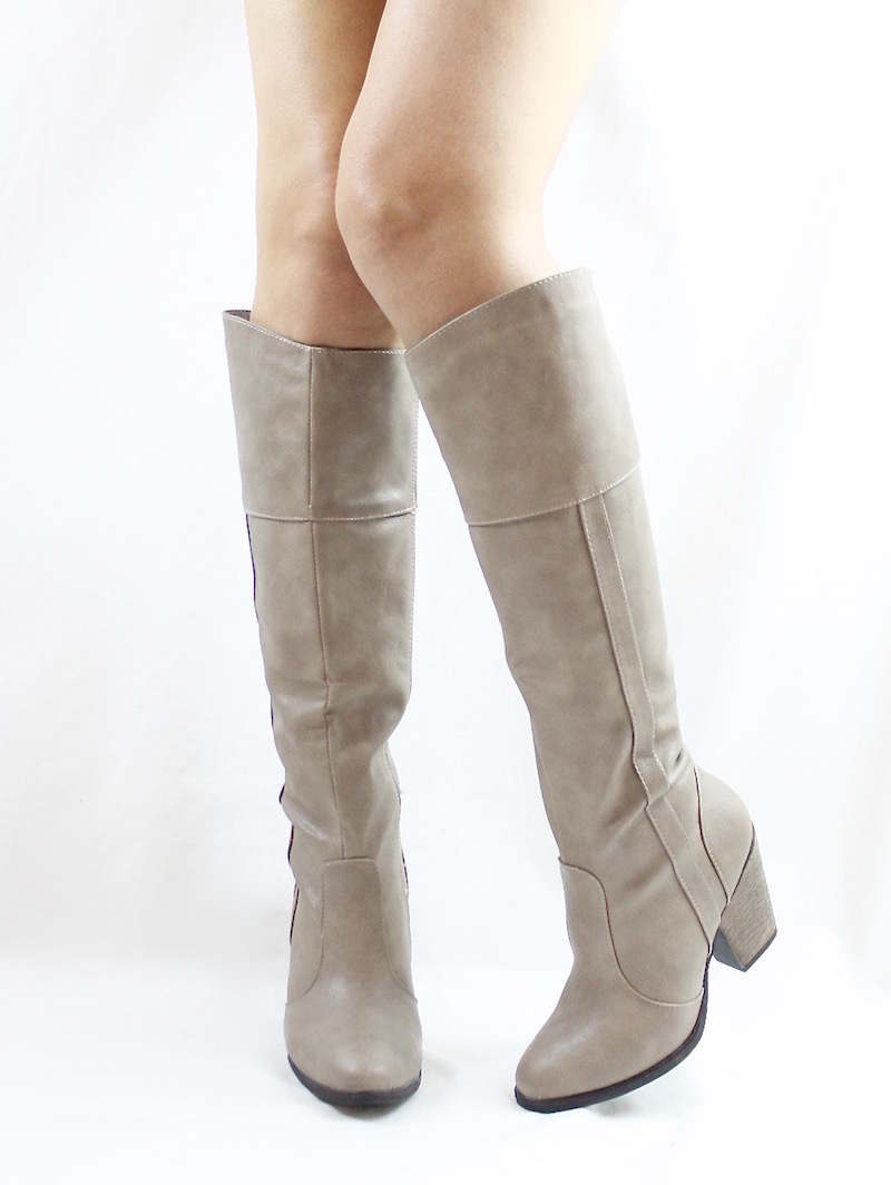 Dollhouse Attention Stone Cowgirls Western boots-3266