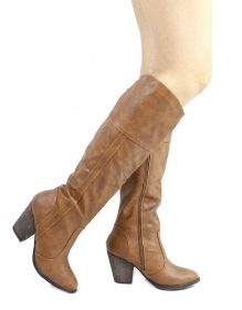 Dollhouse Attention Chestnut Cowgirls Western boots-0