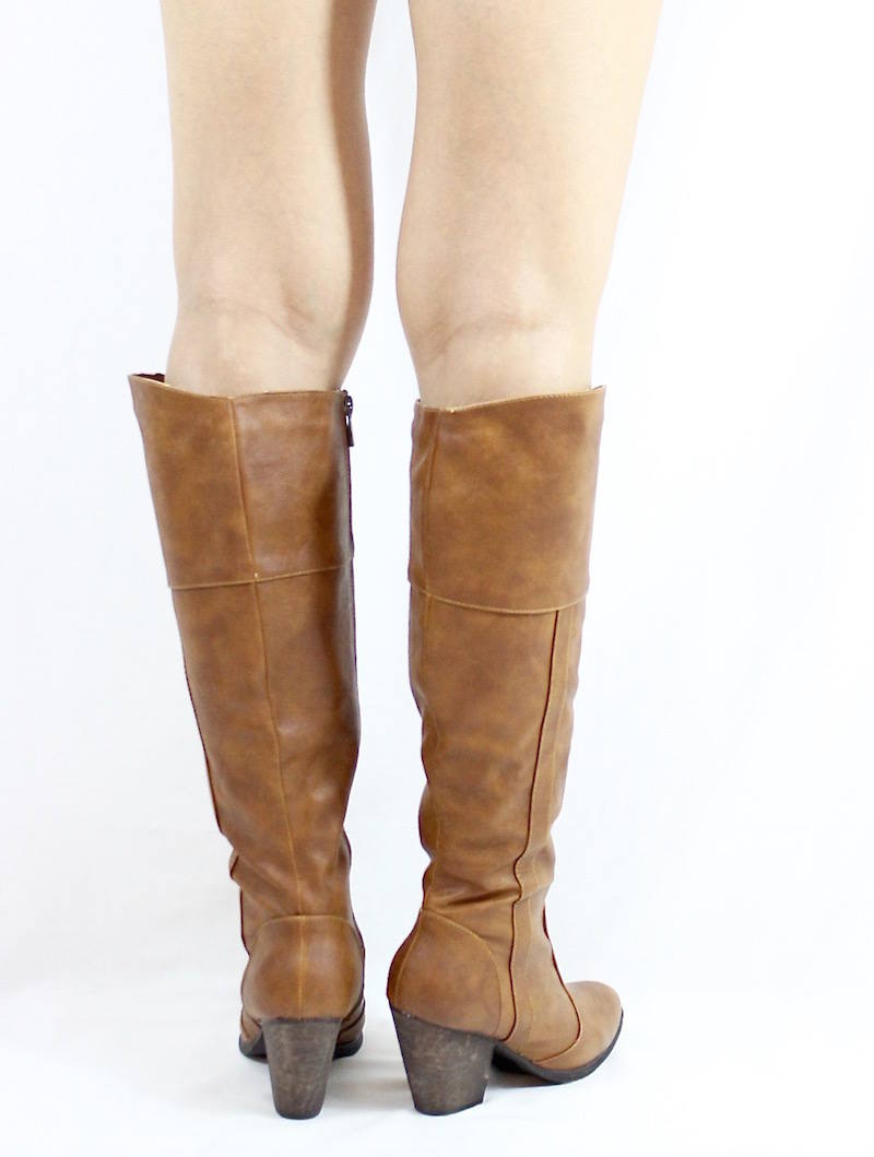 Dollhouse Attention Chestnut Cowgirls Western boots-3269