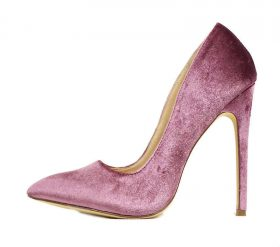 Liliana Pixie Mauve Pointy Toe Pump-0