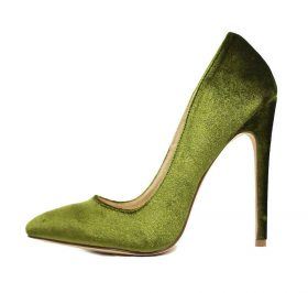 Liliana Pixie Olive Pointy Toe Pump-0