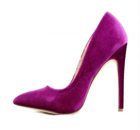 Liliana Pixie Purple Pointy Toe Pump-0