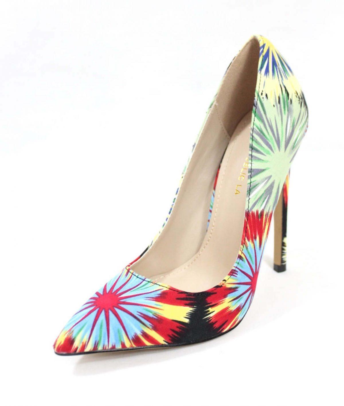 Shoe Republic Cajun Black Pointy Toe Pumps-4534