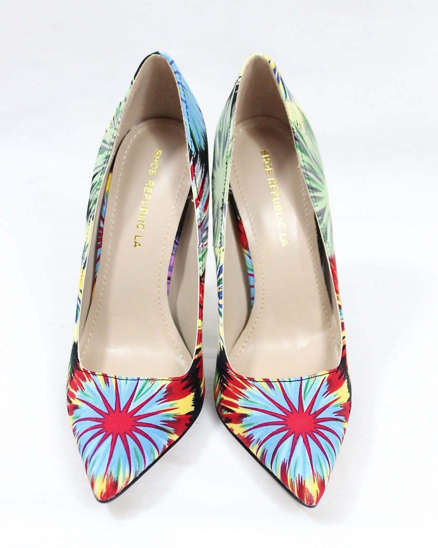 Shoe Republic Cajun Black Pointy Toe Pumps-4533