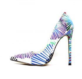 Shoe Republic Cajun Blue Pointy Toe Pumps-0