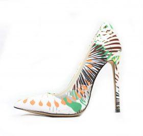 Shoe Republic Cajun Green Pointy Toe Pumps-0