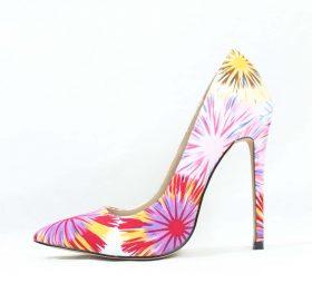 Shoe Republic Cajun White Pointy Toe Pumps-0