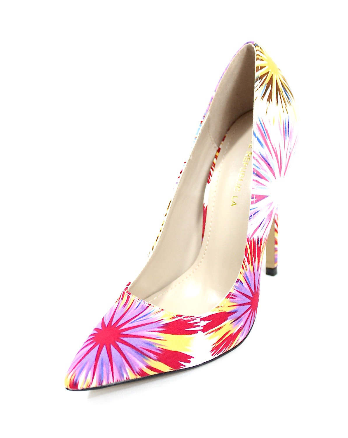 Shoe Republic Cajun White Pointy Toe Pumps-4556