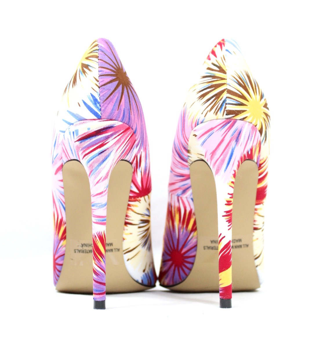 Shoe Republic Cajun White Pointy Toe Pumps-4558