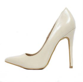 Shoe Republic Giuliana Beige Pointy Toe Pumps-0