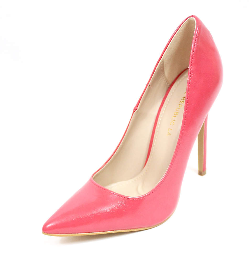 Shoe Republic Giuliana Coral Pointy Toe Pumps-4496
