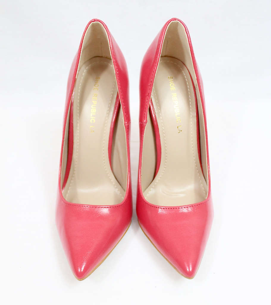 Shoe Republic Giuliana Coral Pointy Toe Pumps-4494