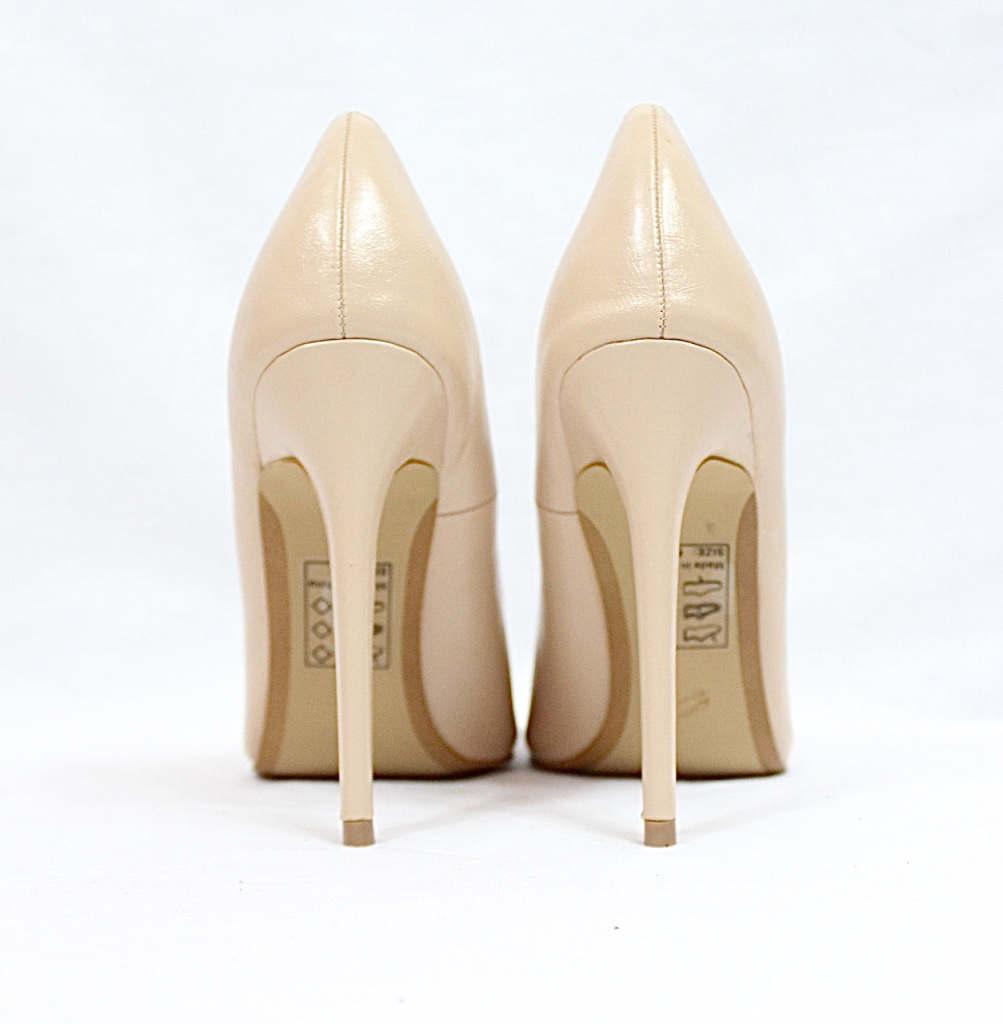 Shoe Republic Giuliana Nude Pointy Toe Pumps-4516
