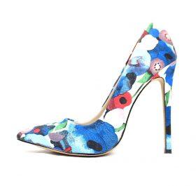 Shoe Republic Styler Blue Pointy Toe Pumps-0