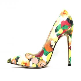 Shoe Republic Styler Yellow Pointy Toe Pumps-0