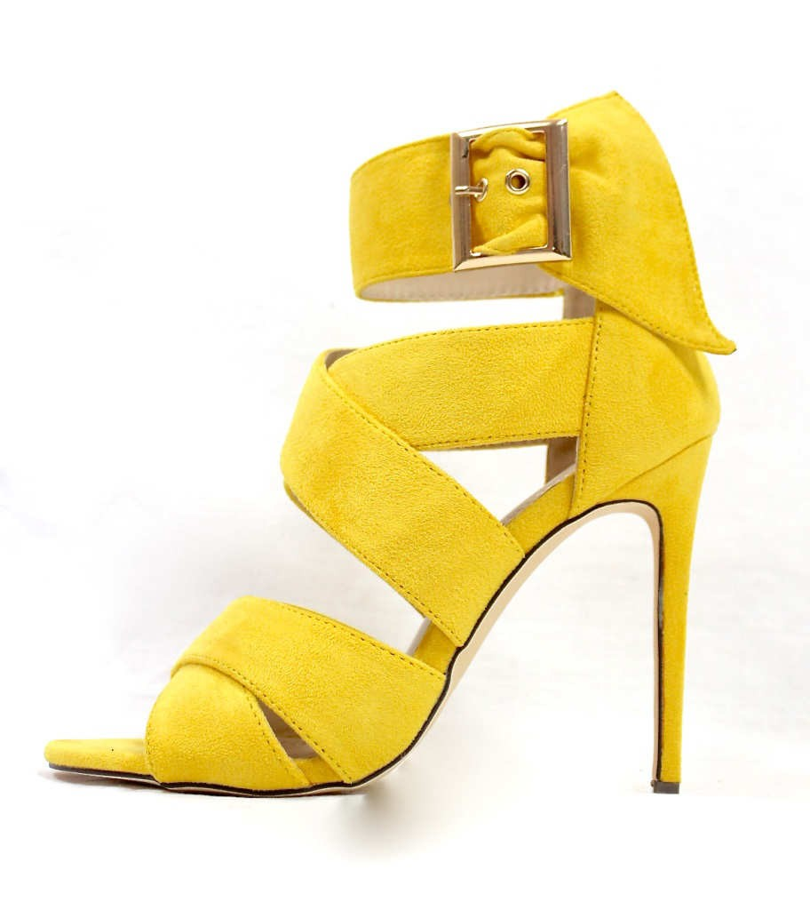 Barbara Strappy Yellow
