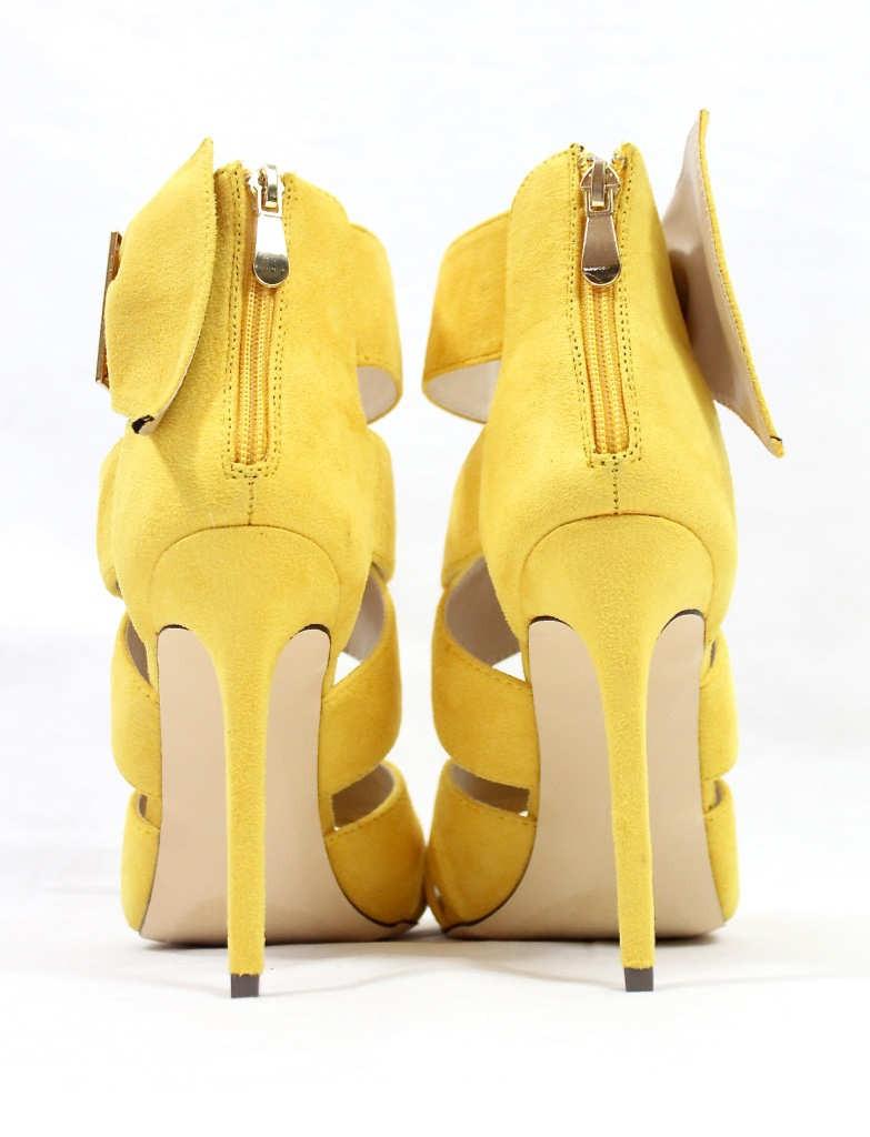 Barbara Strappy Yellow